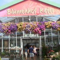 Blumenhof Kefer Eingangsportal